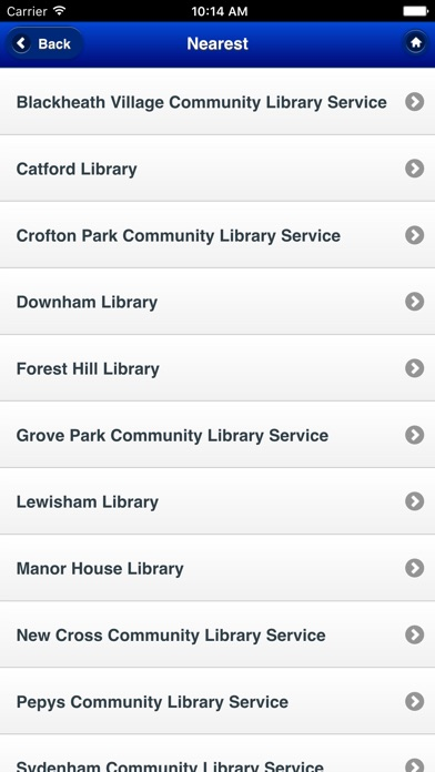 Screenshot #10 for Lewisham Libraries