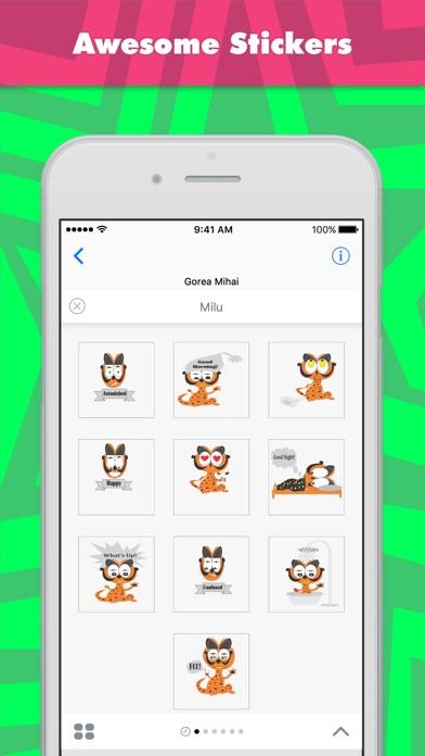 Стикеры Milu от Gorea MihaiСкриншоты 1