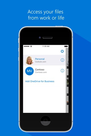 Microsoft OneDrive screenshot 3