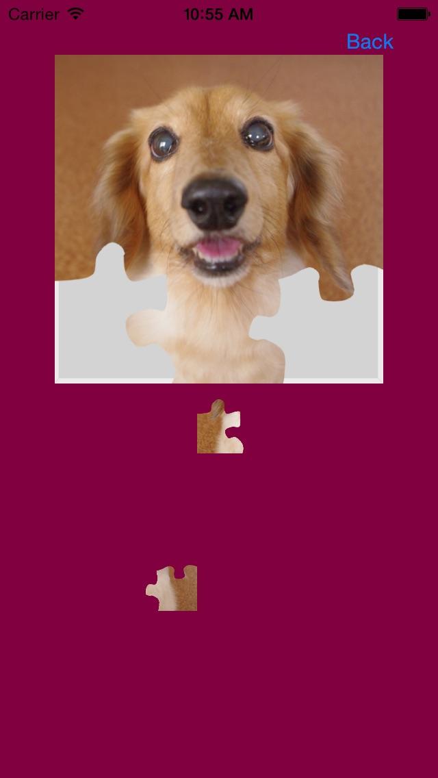 犬(イヌ,いぬ)のジグソーパズルのスクリーンショット3