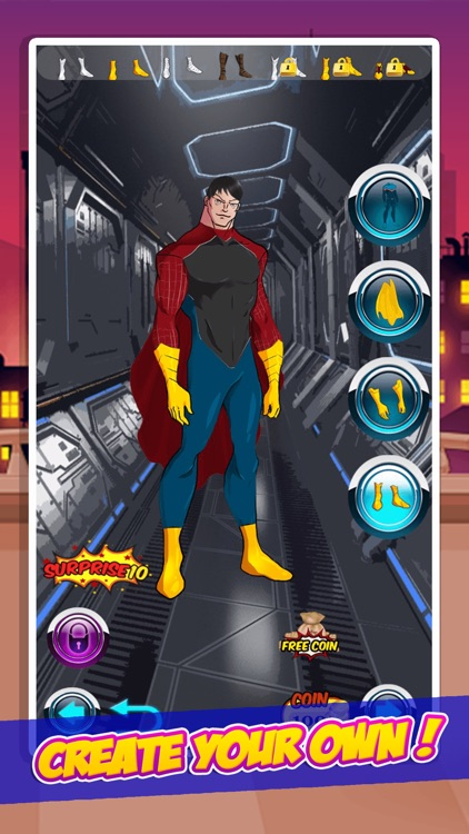 Amazing Superhero Creator for Justice by Phowpinyo Shimbhanao