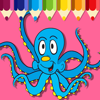 Coloring Octopus Pages Game Free Education Wiki