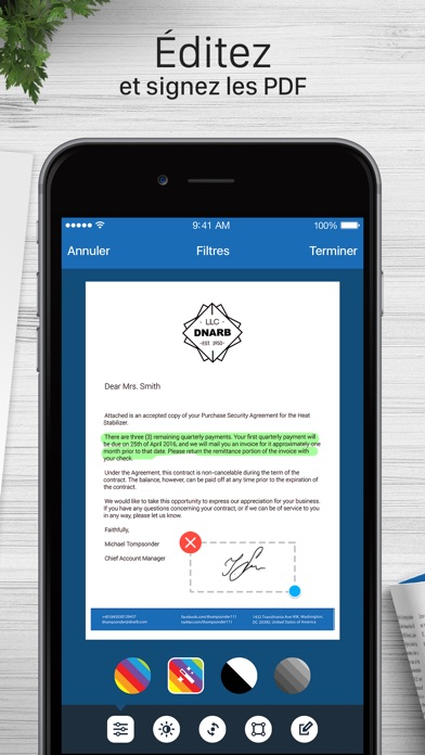 download Scanner pour moi + OCR apps 2
