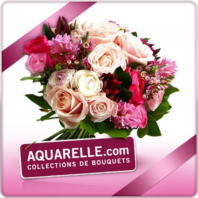 Livraison de fleurs aquarelle dans l app store for Aquarelle fleurs livraison gratuite