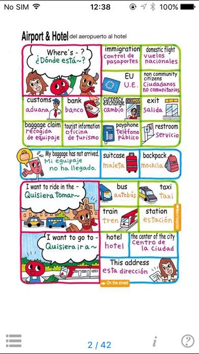 指さし会話 英語―スペイン語 touch&... screenshot1
