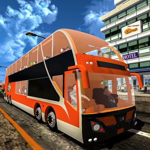 Extreme City Bus Driving Sim