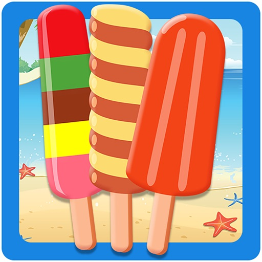 Ice candy fever cooking game - Free kids food iOS App