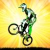 Uphill Bicycle Rider BMX Race