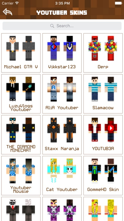 Youtuber Skins Cute Skins For Minecraft PE PC By Nidhi Mistri - Skins para minecraft youtuber