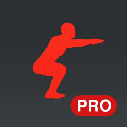 Runtastic Squats PRO Workout, Trainer & Counter