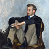 Frederic Bazille Artworks Stickers