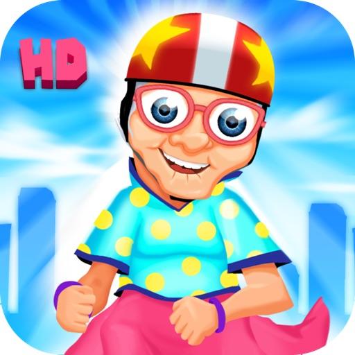 A Harlem Shake Granny Run FREE HD - Endless Multiplayer Runner Race Game iOS App