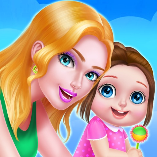 New Baby Welcome Party - Newborn Girl Makeup Salon iOS App