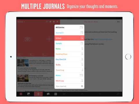 Day One Journal screenshot 2