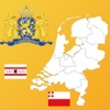 Netherlands State Maps, Flags & Info