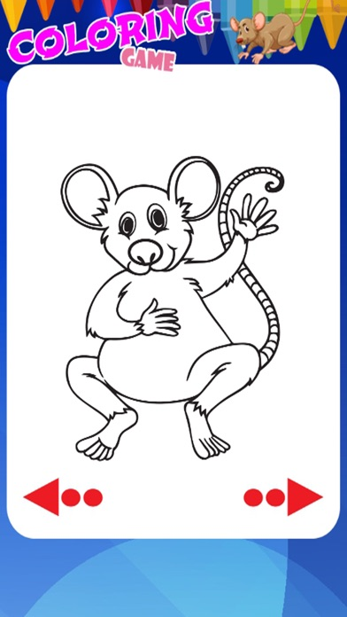 Crazy Mice Coloring Book For Kids App Download