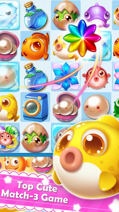 App shopper charm fish mania match quest games for Fish mania game