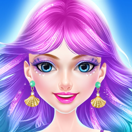 Mermaid Beauty Makeup and Makeover