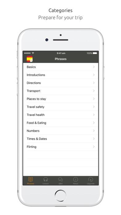 Spanish Language Guide & Audio - World Nomads screenshot one