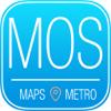 Moscú Guía de Viaje con Mapa Offline y Tours
