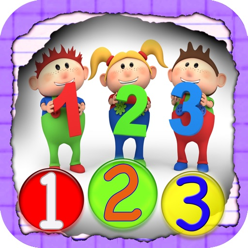 Toddler Counting, Tracer Number Free iOS App