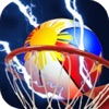 Basketball Throw 3D : The prImal Shooting Legends