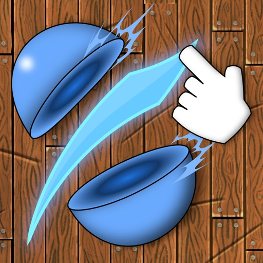 Ninja Slash - Color Balls Slicing Free Games iOS App