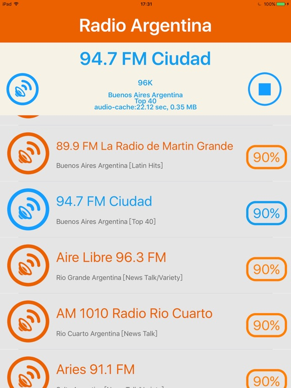 Radio Argentina - Radio ARG   App Price Drops
