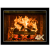 Fireplace 4K - Ultra HD Video + Audio Wallpaper