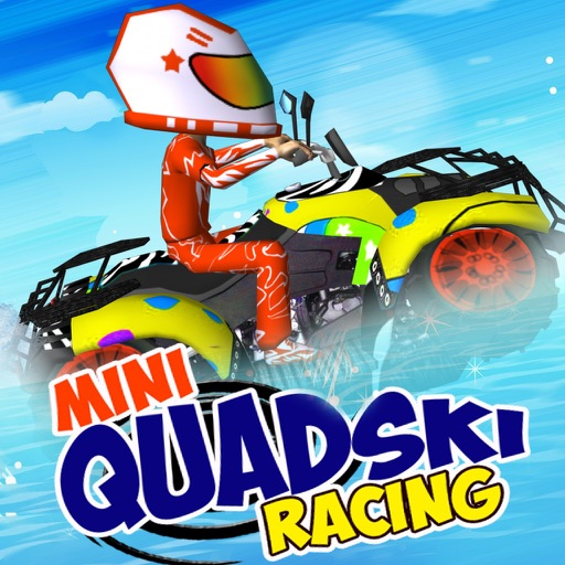 Mini Quad Ski Racing - Fun Jet Ski Racing for Kids Icon