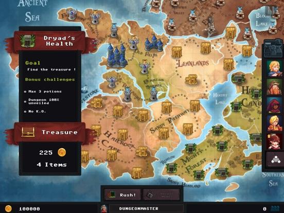Dungeon Rushers 앱스토어 스크린샷