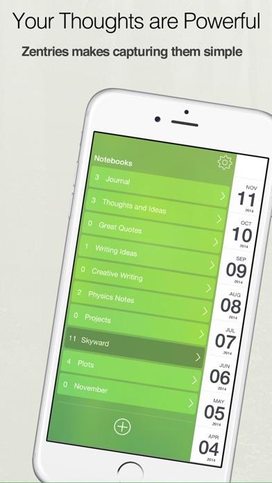 【简约实用】Zentries: 精美直观的方式来记日志或日记。