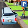 Real City Limousine Taxi Game 3D: Limo Driver Sim