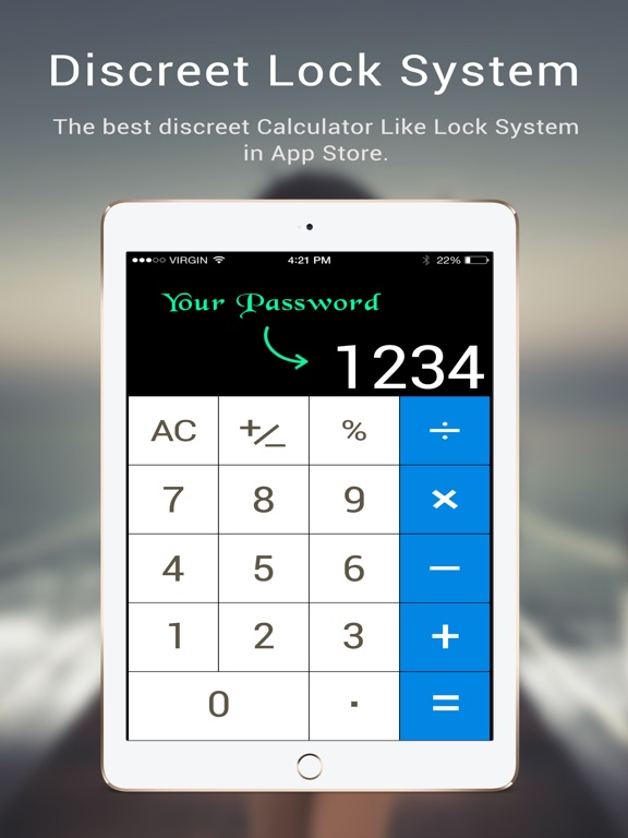 Calculator Safe Vault - Store your privates Скриншоты6