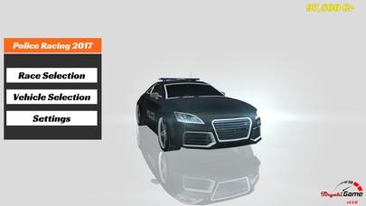 警察 車 運転 そして、 レース シミュレータ 年 2017のスクリーンショット1