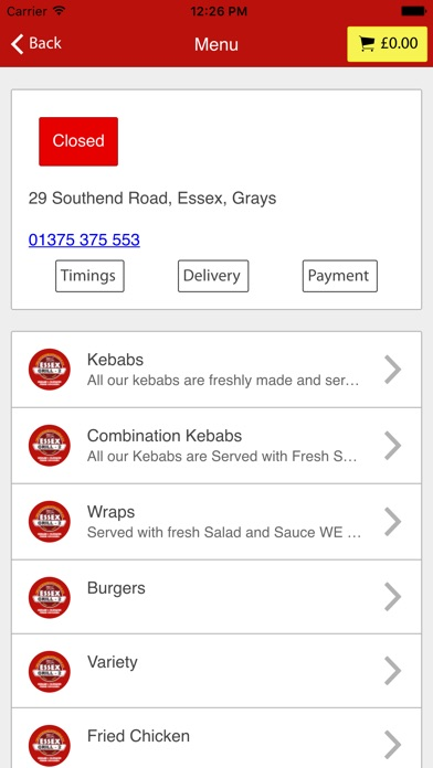 App Shopper Essex Grill Grays Food Drink