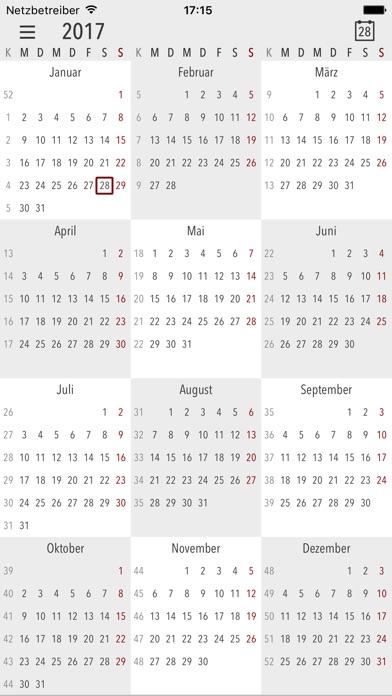 Screenshot von Cali - Die Kalender App3