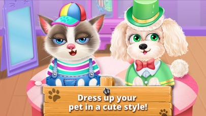 Pet Vet Care Doctor Games Baby Puppies Dog Cat
