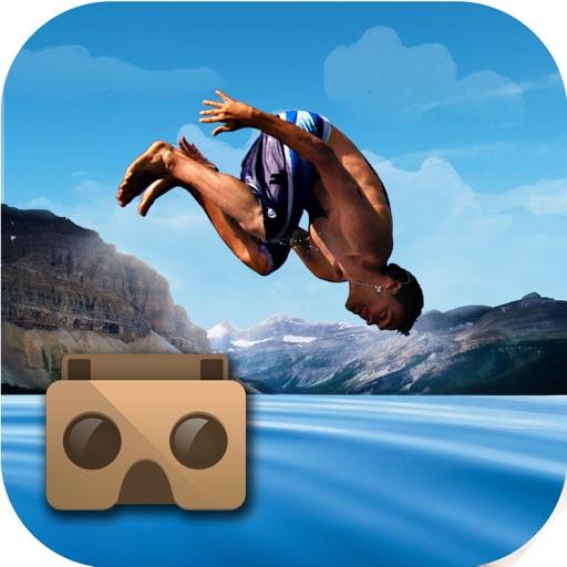 VR Flip Swim Diving : Cliff Jumping iOS App