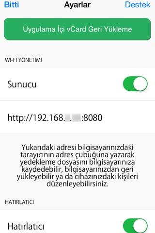 My Contacts Backup Pro screenshot 4