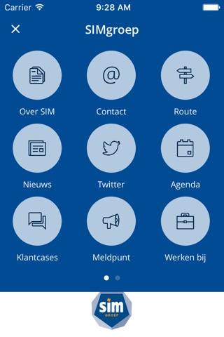 SIMgroep screenshot 1