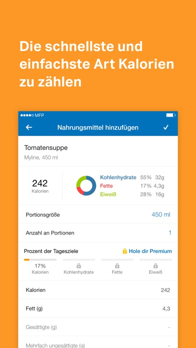 Meine persönliche Perle: MyFitnessPal › iPadBlog.de