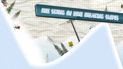 Screenshot #6 for Stickman Ski Racer