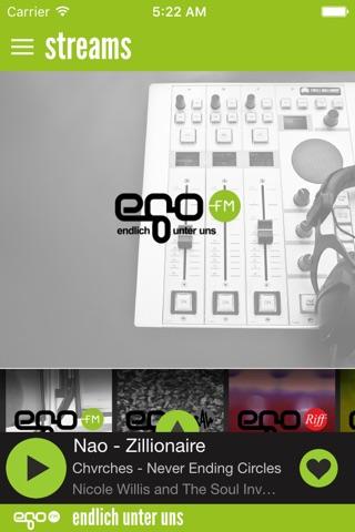 egoFM screenshot 1