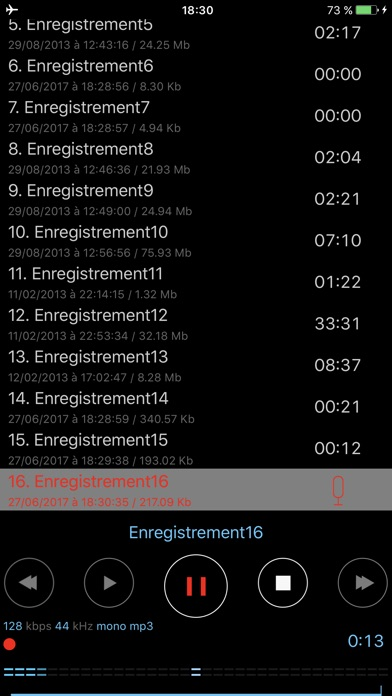 download Dictaphone - Enregistreur Audio apps 3