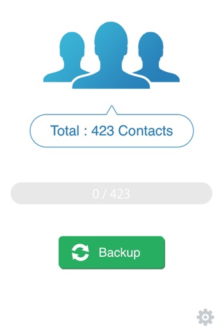 My Contacts Backup Pro screenshot 1