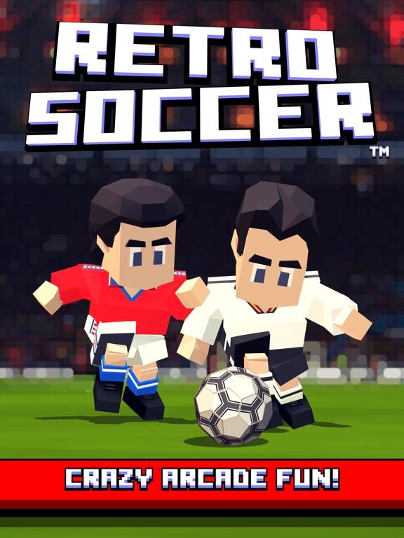 Retro Soccer - Arcade Football iPad