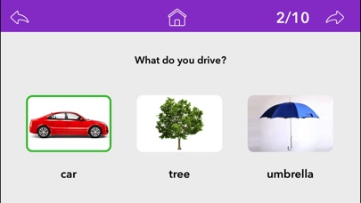 Screenshot #7 for Wh Questions by Teach Speech Apps