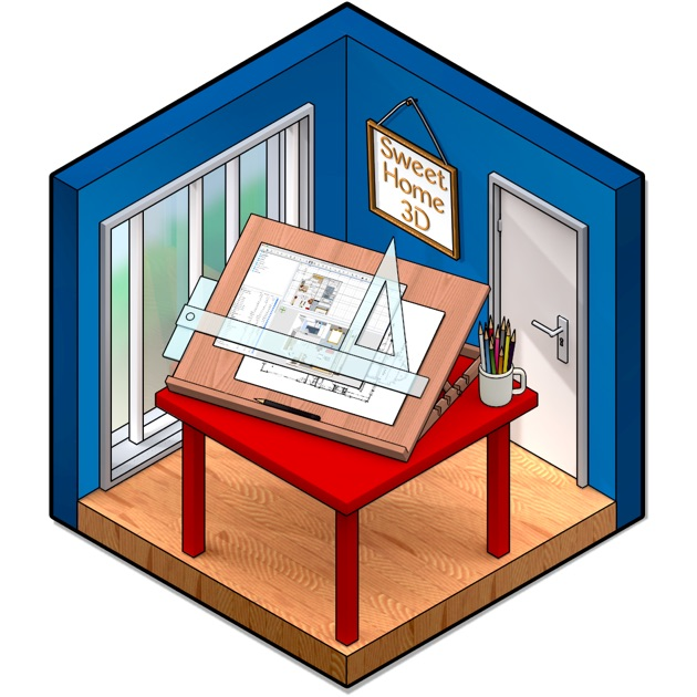 Sweet home 3d on the mac app store for Libreria arredamento sweet home 3d