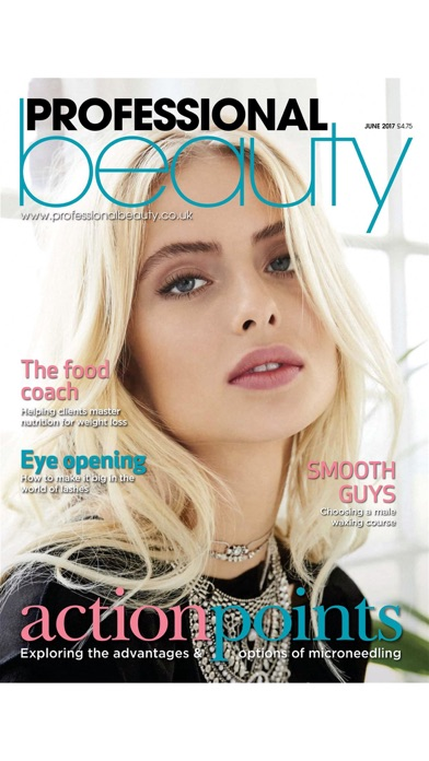 Professional Beauty Magazine review screenshots